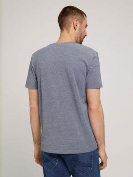 T-shirt met logo borduursel - 2 - TOM TAILOR