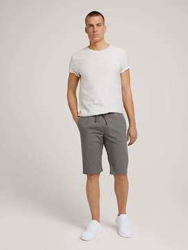 Josh regular slim sweat-shorts - 3 - TOM TAILOR