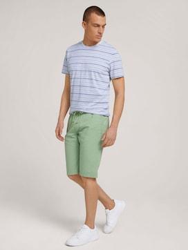 Josh regular slim sweat-shorts - 3 - TOM TAILOR