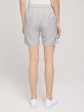 Loose Fit Bermuda Shorts mit Leinen - 2 - TOM TAILOR