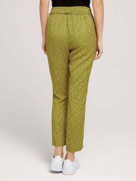 LenzingTM EcoVeroTM elastic loose-fit trousers - 2 - TOM TAILOR