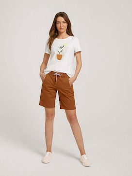 Bermuda Shorts mit Kordelzug - 3 - TOM TAILOR