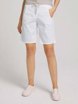 Bermuda Shorts mit Kordelzug - 1 - TOM TAILOR
