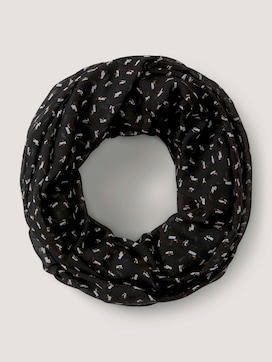 Patterned tube scarf - 7 - TOM TAILOR