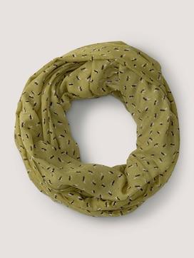 Sjaal met dessin - 7 - TOM TAILOR