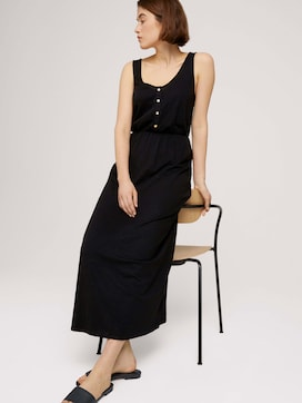 Sleeveless maxi dress with a button tab - 5 - TOM TAILOR Denim