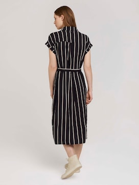 Midi blouse dress with a belt - 2 - TOM TAILOR Denim