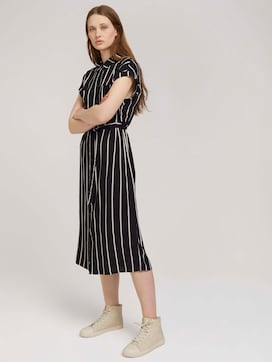 Midi blouse dress with a belt - 5 - TOM TAILOR Denim