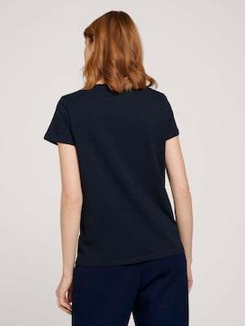 T-shirt met hartjesprint op de voorkant - 2 - TOM TAILOR