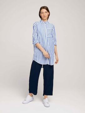 Flowing culotte trousers - 3 - TOM TAILOR