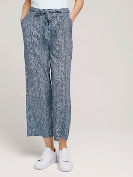 Flowing culotte trousers - 1 - TOM TAILOR