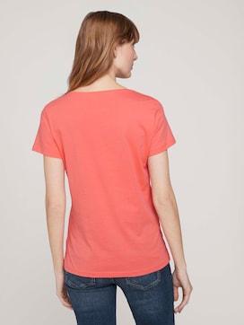 T-Shirt mit Print mit Bio-Baumwolle  - 2 - TOM TAILOR
