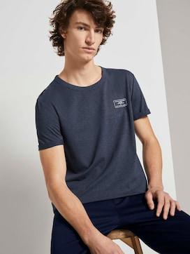 T-shirt with cuffs - 5 - TOM TAILOR Denim
