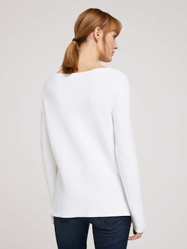 ottoman sweater made with organic cotton  - 2 - TOM TAILOR