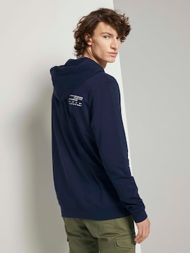hoodie with a chest pocket - 2 - TOM TAILOR Denim
