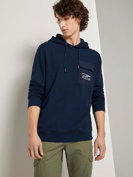 hoodie with a chest pocket - 5 - TOM TAILOR Denim