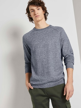 Strickpullover mit Raglanärmeln - 5 - TOM TAILOR Denim