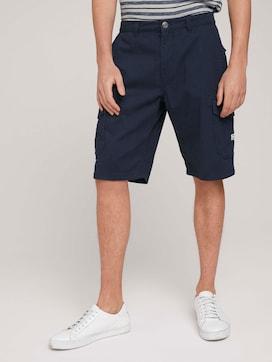 Twill Cargo Shorts - 1 - TOM TAILOR