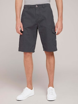 Twill Cargo Shorts - 1 - TOM TAILOR