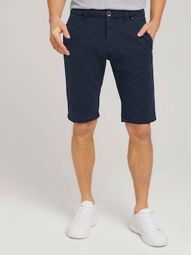 Chino Slim Shorts mit Bio-Baumwolle  - 1 - TOM TAILOR