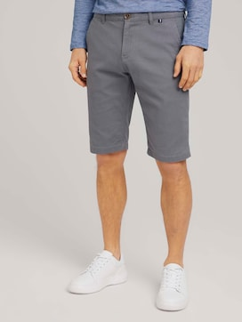 chino slim shorts made with organic cotton  - 1 - TOM TAILOR