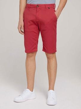 Chino Slim Shorts mit Bio Baumwolle - 1 - TOM TAILOR