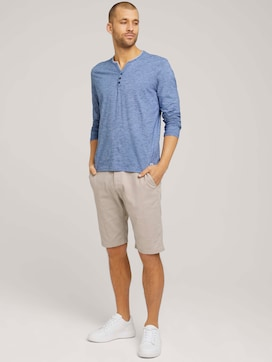 chino slim shorts made with organic cotton   - 3 - TOM TAILOR