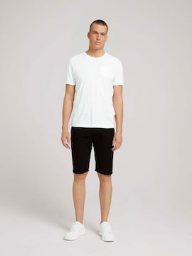 Chino Slim Shorts - 3 - TOM TAILOR