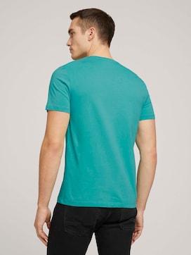 T-shirt met biologisch katoen  - 2 - TOM TAILOR