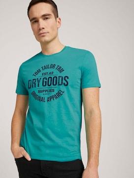 T-shirt met biologisch katoen  - 5 - TOM TAILOR