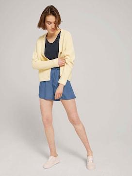 Relaxed lyocell shorts - 3 - TOM TAILOR Denim