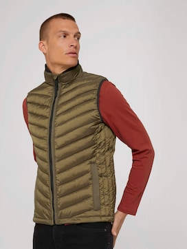 quilted lightweight vest - 5 - TOM TAILOR