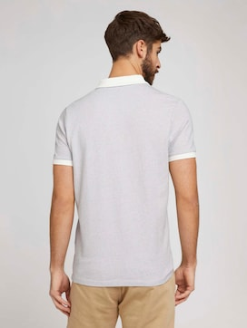 Poloshirt mit Birdseye-Muster - 2 - TOM TAILOR