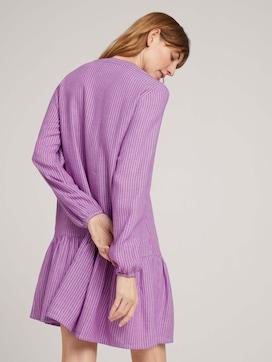 Gestreiftes Tunika Kleid mit Leinen - 2 - TOM TAILOR