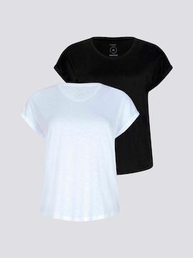 Loose Fit T-Shirt im Doppelpack - 7 - Tom Tailor E-Shop Kollektion
