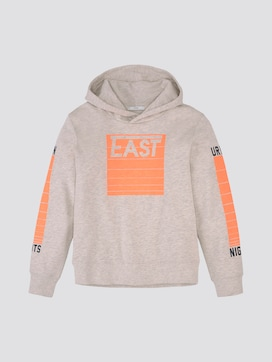 hoodie with a print - 7 - TOM TAILOR