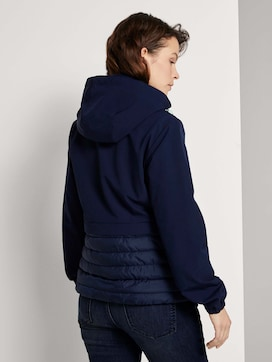hybrid quilted jacket with a hood - 2 - TOM TAILOR