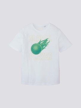 T-Shirt mit sportlichem Print - 7 - TOM TAILOR
