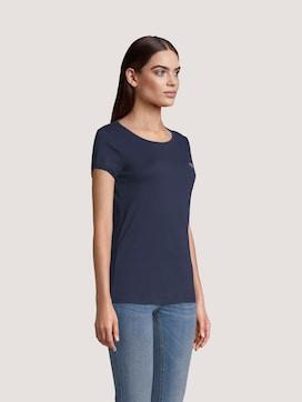 T_Shirt aus Bio-Baumwolle - 5 - TOM TAILOR Denim