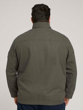 starter jacket made with organic cotton   - 2 - Men Plus
