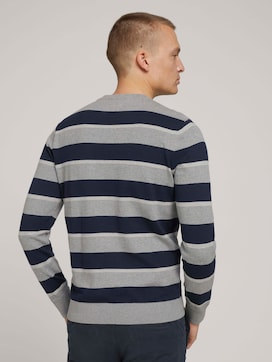 Striped knit sweater - 2 - TOM TAILOR
