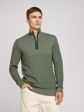 Troyer Pullover - 5 - TOM TAILOR