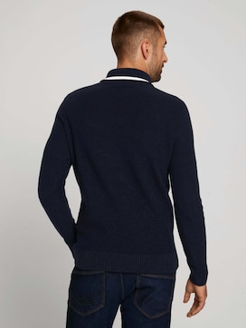 Pullover mit recyceltem Polyester - 2 - TOM TAILOR