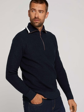 Pullover mit recyceltem Polyester - 5 - TOM TAILOR