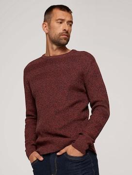 Pullover aus Bio-Baumwolle - 5 - TOM TAILOR