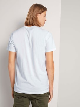 Basic T-Shirt im Dreierpack - 2 - TOM TAILOR Denim