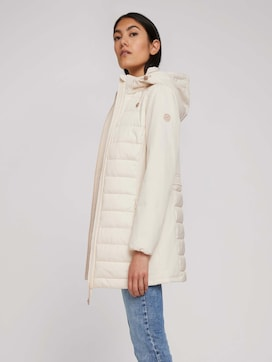 Long softshell quilted jacket - 5 - TOM TAILOR