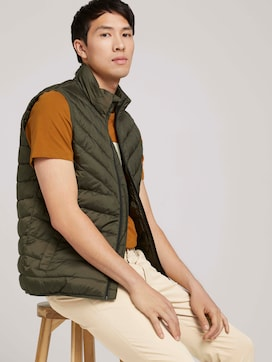 Quilted vest with recycled polyamide - 5 - TOM TAILOR Denim