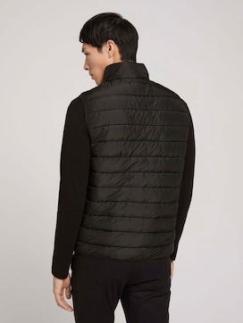 Quilted vest with recycled polyamide - 2 - TOM TAILOR Denim