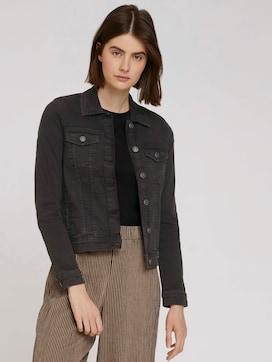 Jeansjacke in dunkler Waschung - 5 - TOM TAILOR Denim